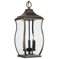 41ELIZABETH 41975-ORCB Rodney 3 Light 8 inch Oil Rubbed Bronze Outdoor Hanging Lantern