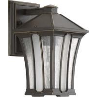 41ELIZABETH 43487-ABCS Regis 1 Light 10 inch Antique Bronze Outdoor Wall Lantern, Small, Design Series
