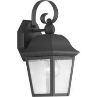 41ELIZABETH 43490-BCSI Orman 1 Light 13 inch Textured Black Outdoor Wall Lantern, Small, Design Series