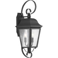 41ELIZABETH 43517-BCSI Orman 2 Light 22 inch Textured Black Outdoor Wall Lantern, Medium, Design Series