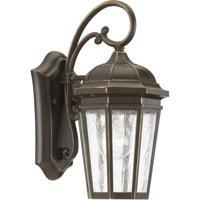 41ELIZABETH 43491-ABCS Gilford 1 Light 13 inch Antique Bronze Outdoor Wall Lantern, Small, Design Series