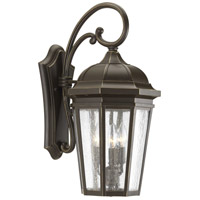 41ELIZABETH 43515-ABCS Gilford 3 Light 22 inch Antique Bronze Outdoor Wall Lantern, Large, Design Series