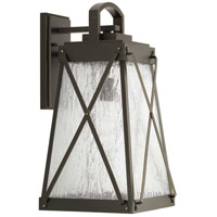 41ELIZABETH 43505-ABCS Lorraine 1 Light 19 inch Antique Bronze Outdoor Wall Lantern, Large, Design Series