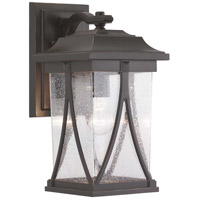 41 Elizabeth 46350-ABCS Luce 1 Light 16 inch Antique Bronze Outdoor Wall Lantern