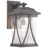 41ELIZABETH 46353-APCS Luce 1 Light 20 inch Antique Pewter Outdoor Wall Lantern, Large