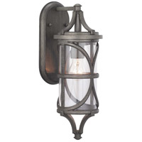 41ELIZABETH 46360-APCI Chay 1 Light 17 inch Antique Pewter Outdoor Wall Lantern Small Design Series