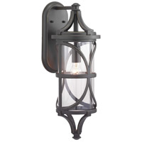 41ELIZABETH 46363-ABCI Chay 1 Light 26 inch Antique Bronze Outdoor Wall Lantern Large Design Series