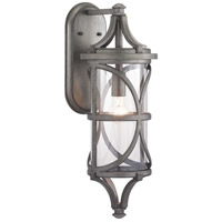 41ELIZABETH 46364-APCI Chay 1 Light 26 inch Antique Pewter Outdoor Wall Lantern Large Design Series