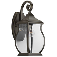 41ELIZABETH 41994-ORCB Rodney 1 Light 15 inch Oil Rubbed Bronze Outdoor Wall Lantern, Small