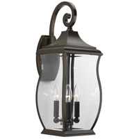 41ELIZABETH 41996-ORCB Rodney 3 Light 22 inch Oil Rubbed Bronze Outdoor Wall Lantern, Large