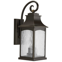 41ELIZABETH 41999-ORWS Corrina 2 Light 20 inch Oil Rubbed Bronze Outdoor Wall Lantern, Medium