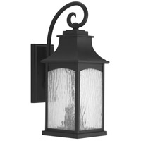 41ELIZABETH 42000-BWS Corrina 2 Light 20 inch Textured Black Outdoor Wall Lantern, Medium