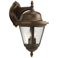 41ELIZABETH 41924-ABCS Marcellus 2 Light 19 inch Antique Bronze Outdoor Wall Lantern, Large