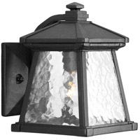 41ELIZABETH 41931-BCW Idina 1 Light 9 inch Textured Black Outdoor Wall Lantern, Small
