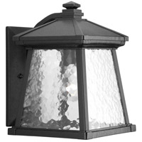 41ELIZABETH 41932-BCW Idina 1 Light 12 inch Textured Black Outdoor Wall Lantern, Medium