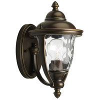 41ELIZABETH 41927-ORCH Aquarius 1 Light 11 inch Oil Rubbed Bronze Outdoor Wall Lantern