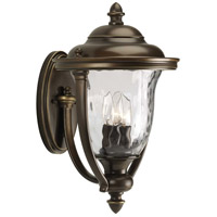 41ELIZABETH 41929-ORCH Aquarius 3 Light 17 inch Oil Rubbed Bronze Outdoor Wall Lantern
