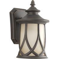 41ELIZABETH 41867-ACGU Klemens 1 Light 11 inch Aged Copper Outdoor Wall Lantern, Small