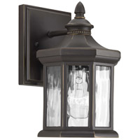 41ELIZABETH 42008-ABW Shipley 1 Light 9 inch Antique Bronze Outdoor Wall Lantern, Small