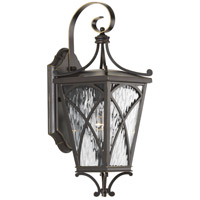41ELIZABETH 43499-ORCW Madison 1 Light 16 inch Oil Rubbed Bronze Outdoor Wall Lantern, Small, Design Series