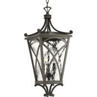 41ELIZABETH 43521-ORCW Madison 3 Light 10 inch Oil Rubbed Bronze Outdoor Hanging Lantern, Design Series