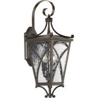 41ELIZABETH 43512-ORCW Madison 2 Light 21 inch Oil Rubbed Bronze Outdoor Wall Lantern, Medium, Design Series