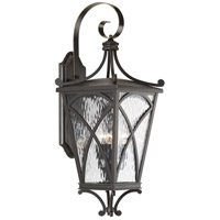 41ELIZABETH 43523-ORCW Madison 3 Light 27 inch Oil Rubbed Bronze Outdoor Wall Lantern, Large, Design Series