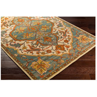 41ELIZABETH 42279-GG Beverly 132 X 96 inch Green and Gray Area Rug, Wool a179_corner.jpg thumb