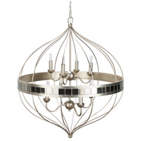 41ELIZABETH 47554-01 Atticus 8 Light 29 inch Pendant Ceiling Light