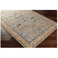 41ELIZABETH 47820-DG Aemilius 96 X 30 inch Denim/Light Gray/Dark Blue/Dark Brown/Tan/Camel Rugs aes2307_corner.jpg thumb