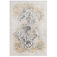 41ELIZABETH 48045-CG Ainsley 91 X 31 inch Charcoal/Medium Gray/Mustard/Light Gray Rugs, Runner thumb