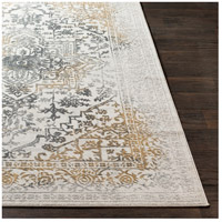 41ELIZABETH 48045-CG Ainsley 91 X 31 inch Charcoal/Medium Gray/Mustard/Light Gray Rugs, Runner ais2308-front.jpg thumb