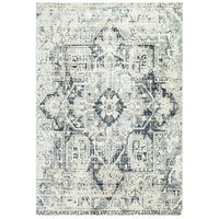 41ELIZABETH 48233-LG Acton 90 X 63 inch Light Gray/Medium Gray/White/Cream Rugs, Rectangle thumb