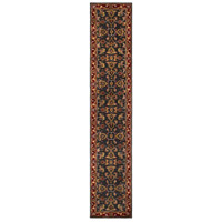 41ELIZABETH 48673-BR Arlo 42 X 42 inch Bright Red/Charcoal/Mustard/Dark Brown/Olive/Tan Rugs, Round thumb