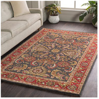41ELIZABETH 48673-BR Arlo 42 X 42 inch Bright Red/Charcoal/Mustard/Dark Brown/Olive/Tan Rugs, Round awhy2061-roomscene_201.jpg thumb