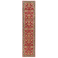 41ELIZABETH 48685-BR Arlo 168 X 27 inch Bright Red/Charcoal/Mustard/Dark Brown/Olive/Tan Rugs, Runner thumb