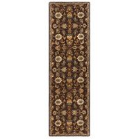 41ELIZABETH 48741-DB Arlo 156 X 108 inch Dark Brown/Camel/Ivory/Olive/Teal/Mustard Rugs, Rectangle thumb