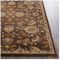 41ELIZABETH 48741-DB Arlo 156 X 108 inch Dark Brown/Camel/Ivory/Olive/Teal/Mustard Rugs, Rectangle awmd1002-front.jpg thumb