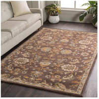 41ELIZABETH 48741-DB Arlo 156 X 108 inch Dark Brown/Camel/Ivory/Olive/Teal/Mustard Rugs, Rectangle awmd1002-roomscene_201.jpg thumb