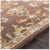 41ELIZABETH 48741-DB Arlo 156 X 108 inch Dark Brown/Camel/Ivory/Olive/Teal/Mustard Rugs, Rectangle awmd1002-texture.jpg thumb