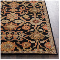 41ELIZABETH 48764-B Arlo 72 X 48 inch Black/Rust/Olive/Camel/Tan/Sage Rugs, Rectangle awmd2073-front.jpg thumb
