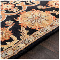 41ELIZABETH 48762-B Arlo 60 X 36 inch Black/Rust/Olive/Camel/Tan/Sage Rugs, Rectangle awmd2073-texture.jpg thumb