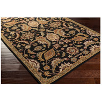 41ELIZABETH 48779-BG Arlo 72 X 48 inch Black/Camel/Khaki/Medium Gray/Olive/Burgundy Rugs, Rectangle awmd2078_corner.jpg thumb