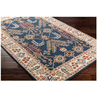 41ELIZABETH 48791-NB Arlo 156 X 108 inch Navy/Ivory/Camel/Dark Brown/Garnet Rugs, Rectangle awmd2241_corner.jpg thumb