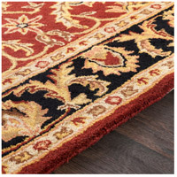 41ELIZABETH 48816-DB Arlo 156 X 108 inch Dark Brown/Mustard/Black/Clay Rugs, Rectangle awoc2001-texture.jpg thumb