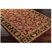41ELIZABETH 48816-DB Arlo 156 X 108 inch Dark Brown/Mustard/Black/Clay Rugs, Rectangle awoc2001_corner.jpg thumb