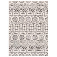41ELIZABETH 48932-CG Aqualina 35 X 24 inch Charcoal/Beige/Medium Gray Rugs thumb