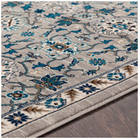 41ELIZABETH 50915-MG Amanda 67 X 47 inch Medium Gray/Sky Blue/Navy/Camel/Dark Brown/Ivory Rugs, Rectangle cmt2302-texture.jpg thumb