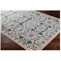41ELIZABETH 50915-MG Amanda 67 X 47 inch Medium Gray/Sky Blue/Navy/Camel/Dark Brown/Ivory Rugs, Rectangle cmt2302_corner.jpg thumb