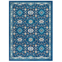 41ELIZABETH 50920-NB Amanda 67 X 47 inch Navy/Sky Blue/Camel/Dark Brown/Medium Gray/Ivory Rugs, Rectangle thumb